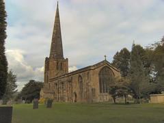 Church of All Saints, Breadsall (Mrs Fogey) Tags: building church derbyshire allsaintschurch breadsall