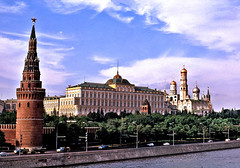 The Kremlin, 1970 (Northern Gateway Portrait Photography) Tags: architecture russia moscow fortress