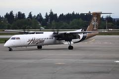 Horizon Air (Alaska Airlines) Dash DHC-8-402 Q400 (N400QX), Seattle Tacoma International Airport, Seattle (SEA) (TFG Lau) Tags: seattle sea tacoma seatac dash8 qx ksea dhc8 horizonair n400qx qxe ahkgapworldwide