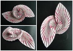 Origami Leafy Dance - Alexander Kurth (Monika Hankova) Tags: abstract paper origami