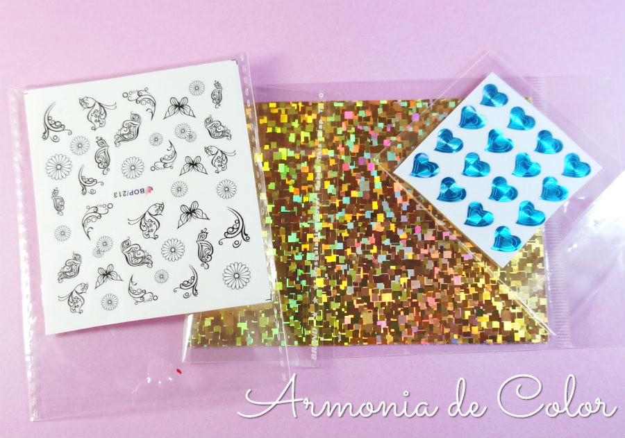 materiales para decoración de uñas 3