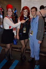 The Doctor, Amy Pond, and Rory (Sp3ed Demon) Tags: atlanta pond dragon amy cosplay who hilton rory doctor hyatt con mariott 2014