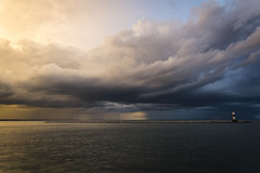 storm over the water (olsonj) Tags: storm water clouds lakemichigan