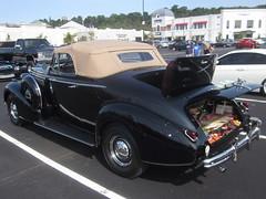 1938 Buick Century Sport Rumble Seat Convertible (splattergraphics) Tags: century buick 1938 convertible carshow rumbleseat huntvalleymd 66l huntvalleytownecentre huntvalleyhorsepower