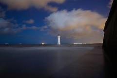 Mind the Ledge (Colin Askew) Tags: cloud night newbrighton newbrightonlighthouse