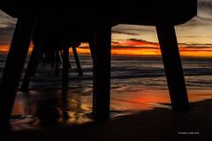 Deerfield pier sunrise-38 (MyKeyC) Tags: beach sunrise landscape pier waves scenic deerfieldbeach deerfieldpier deerfieldbeachpier deerfieldpiersunrise deerfieldlandscape