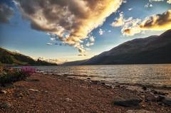 Loch Lochy (dannicamra) Tags: greatbritain england sky lake nature water clouds landscape see scotland nikon himmel wolken landschaft schottland wasse d5100
