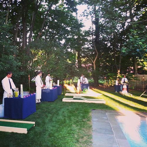#Hamptons #minigolf #Hooky #specialdrink #cocktails #LabourDayWeekend
