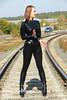 IMG_5927 (Elena Rubberry) Tags: fetish model rubber latex handcuffs catsuit balletheels модель латекс фетиш rubberry lenarubberry катсьют