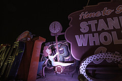 02468136-63-Where Neon Goes to Die-24 (Jim would like to get on Explore this year) Tags: light usa signs history clock tourism sign night america dark lights downtown neon tour lasvegas nevada wideangle places stripper sincity neonmuseum neonboneyard neongraveyard canon5dmarkii camranger canonef1635mmf4lisusmlins