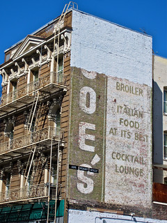 Joe's Ghost Sign, San Francisco, CA