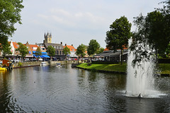 Sluis, The Netherlands 01/08/2014 (Gary S. Crutchley) Tags: travel loo holland color colour netherlands windmill dutch cycling nikon europe jacob low bikes countries painter van nikkor continent vr afs sluis cycles flanders d800 the ifed 24120mm f3556 zeelandic