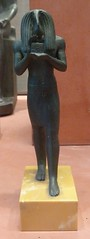 Thoth taking a selfie (Whiskers and Whispers (The Future is Feline)) Tags: paris france god louvre ibis egyptian deity statuette scribe selfie thoth