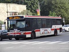 Toronto Transit Commission 7938 on Yonge Subway Shuttle (Orion V) Tags: ttc