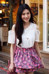 Greta 2 (The Style Collector) Tags: street girl fashion taiwan style skirt taipei stylish streetwear streetstyle