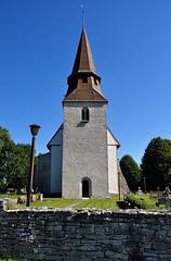 Vänge kyrka, tornet, Gotland (Bochum1805) Tags: church kirche medieval medeltid kyrktorn romansk vängekyrka