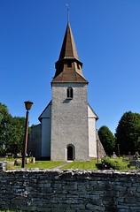 Vnge kyrka, tornet, Gotland (Bochum1805) Tags: church kirche medieval medeltid kyrktorn romansk vngekyrka