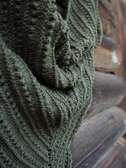Spice Route Shawl (difsus) Tags: knitting handmade shawl knitted alize chaki spicerouteshawl cashmirafine alizecashmirafine
