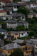 otoman houses, Gjirokaster (filipe mota rebelo | 400.000 views! thank you) Tags: vacation heritage canon europe village unesco worldheritagesite balkans albania 2014 balcans fmr otoman gjirokaster 5dmarkii filipemotarebelo