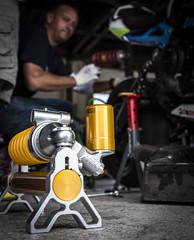 hlins TTX Suspension (bjoern.gramm) Tags: suspension tuning ttx ohlins fahrwerk federbein hlins