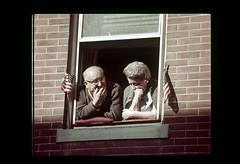 ss10-38 (ndpa / s. lundeen, archivist) Tags: color film window boston 1971 massachusetts nick slide flags slideshow 1970s bostonians bostonian dewolf bunkerhillday nickdewolf photographbynickdewolf slideshow10 bunkerhilldayparade