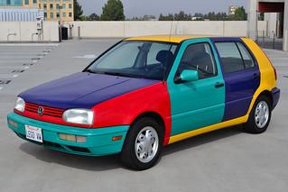 1996 VW Golf Mk3 Harlequin (1)
