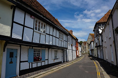 Medieval England (TanzPanorama ( away )) Tags: street old england architecture buildings kent market sandwich medieval tudor