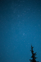 DSC7866a (Ben.d.s) Tags: road longexposure trip blue trees light moon mountain snow night way stars star washington big exposure fuji mt time roadtrip adventure nighttime rainier cascades wa moonlight mtrainier milky vignette bigdipper dipper milkyway x100 fujix100s x100s x100t