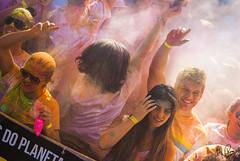 The Color Run (Matheus Ruas) Tags: brazil people colors festival cores nikon 85mm thecolorrun
