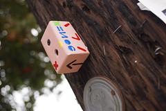 GONE/CUBE (G0N3) Tags: santa street art gone barbara cube cubism funkzone gonemoca gonegallery