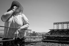 SF Giants (2812 photography) Tags: monochrome photography baseball streetphotography ballgame sfgiants sunnyday adayinthelife 2812photography peterosos fujifilmxt1