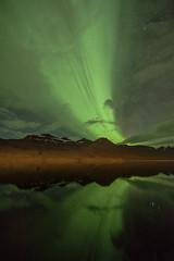 Night in Faskrudsfjordur (*Jonina*) Tags: longexposure sky reflection night iceland ísland northernlights auroraborealis 1000views nótt himinn speglun norðurljós 50faves fáskrúðsfjörður faskrudsfjordur jónínaguðrúnóskarsdóttir september24th2014