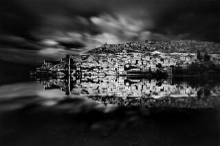 The reflection of Savaşan Village,Şanlıurfa