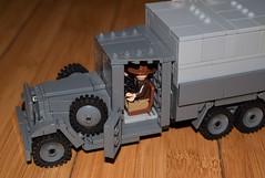 Truck Close-Up (EliteTC) Tags: lego indianajones raiders raidersofthelostark vehicle moc truck