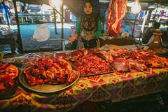 Enjoy the meat (przemyslawkrzyszczuk) Tags: tajlandia thailand przygoda fun adventure trip journey jungle dzungla life lifestyle 6d canon 24mm green zielony thailandjungle sky blue asia azja nature natura forest beach plaza piasek sand sigma art meat mieso market rynek targ aonang krabi