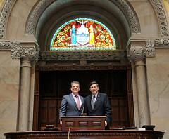 Visit with Senator Murphy in Albany (Legislator John G. Testa) Tags: johntesta terrencemurphy senatormurphy nystatesenate nystatecapitol senatechambers albanyny government newyork