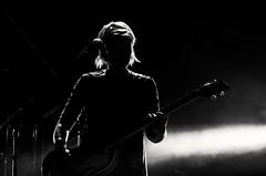 Inconfondibile (stendol [L.B.W.L.]) Tags: verdena live robertasammarelli rock stage bass tour italian shadows lighted silhouette controluce backlight concert ferrari robertaverdena light sagoma