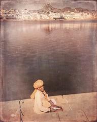Incredible India series (Nick Kenrick..) Tags: india pushkar rajasthan lake hindu