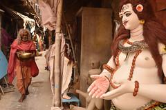 Lord of the ring (Rajib Singha) Tags: travel street people portrait red ritual tradition summer god faith interestingness flickriver nikond7200 kolkata westbengal