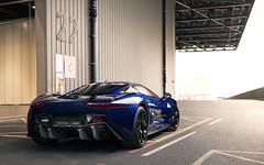 CX75. (Alex Penfold) Tags: jaguar cx75 supercars supercar super car cars autos alex penfold 2017 london classic show blue