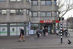 Supermarkt SPAR in voormalig ABN AMRO-gebouw (Mary Berkhout) Tags: maryberkhout denhaag thehague supermarktspar centrum centre gemakvoorelkedag spar supermarkt