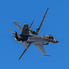 USAF Heritage Flight - USAAF North American/Aero Classics P-51D Mustang '44-15137'/N251PW 'LH-R' 'Baby Duck' and USAF General Dynamics F-16CM Fighting Falcon 94-0042 'SW' (Hugh Dodson) Tags: eaaairventure2016 oshkosh oshkosh2016 usafheritageflight usaaf northamericanaeroclassics p51d mustang 4415137 n251pw lhr babyduck usaf generaldynamics f16cm fightingfalcon 940042 sw