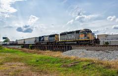 The Espee (Wheelnrail) Tags: dayton ohio unitedstates espee sp southern pacific csx j782 locomotive emd railroad leaser toledo subdivision freight train trains