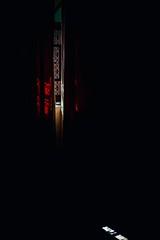 Confidence (Tom Levold (www.levold.de/photosphere)) Tags: fujixt2 marokko zagora fuji morocco fenster window vorhang red rot curtain zagora2011