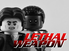 Custom LEGO Lethal Weapon Figures (Will HR) Tags: custom lego lethal weapon