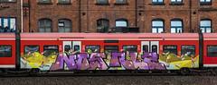 _DSC7669 (Under Color) Tags: hannover hauptbahnhof graffiti db zug train strain sbahn mainstation art streetart subwayart kunst