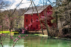 Alley Springs in Spring (Jae at Wits End) Tags: mill spring objects landscape water pond nature country natural picturesque pool rural scenic view wire