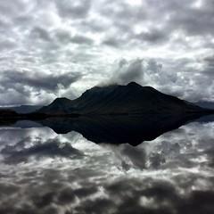 Reflective. Port Davey, Tasmania.