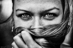 (Marek Lampart) Tags: naturallight eyes eye people texture outdoor ostrava portrait monochrome blackandwhite bw blackwhite black hair nikon nikond5100 nikkor natural cz czech 50mm bestportraitsaoi