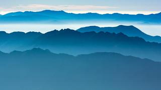 2015 白馬の夏 Blue mountains